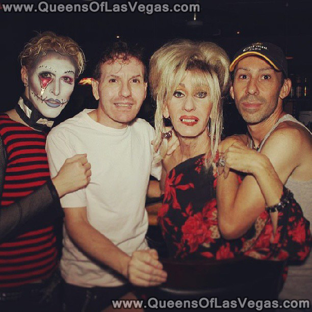 Kenny Kerr with the Queens of Las Vegas